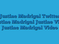 Justine Madrigal Video Twitter Viral